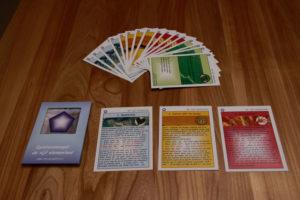 wijsheidskaarten van het Quintessencespel: de vijf elementen!